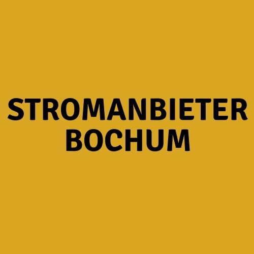 Stromanbieter Bochum
