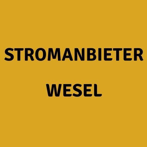 Stromanbieter Wesel
