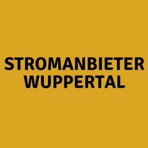 Stromanbieter Wuppertal