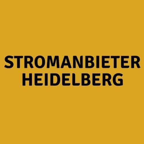 Stromanbieter Heidelberg