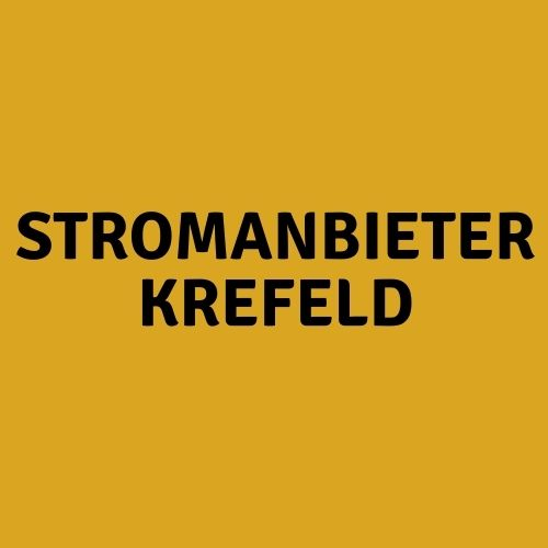 Stromanbieter Krefeld