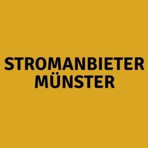 Stromanbieter Münster