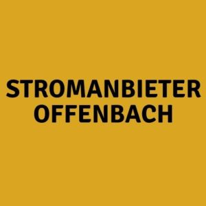 Stromanbieter Offenbach