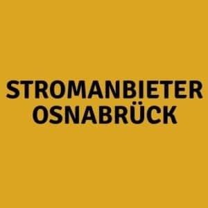 Stromanbieter Osnabrück