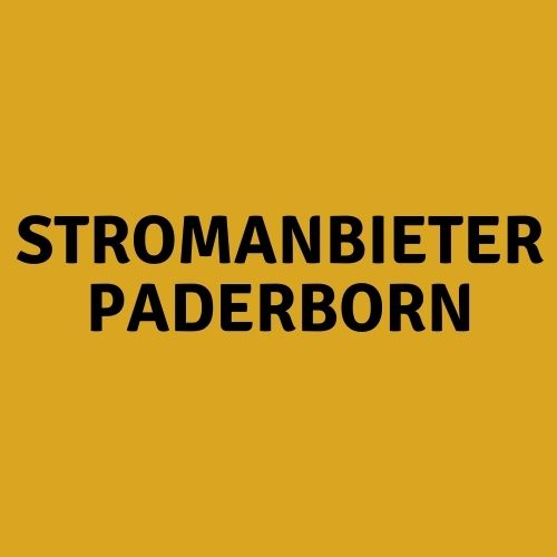 Stromanbieter Paderborn