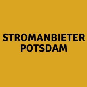 Stromanbieter Potsdam
