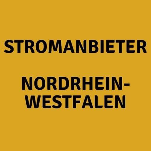 Der Stromanbieter Nordrhein-Westfalen