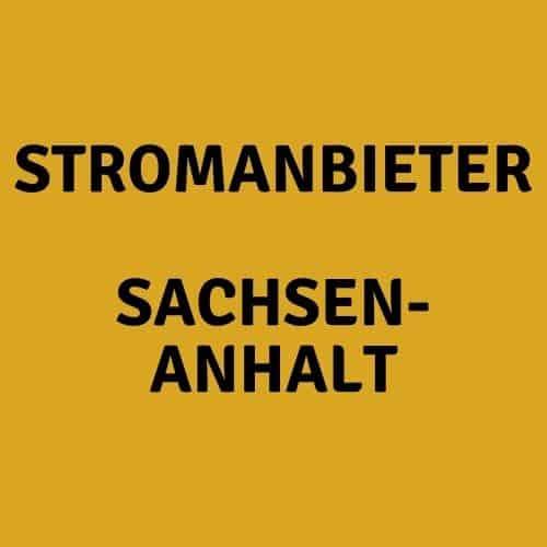 Der Stromanbieter Sachsen-Anhalt