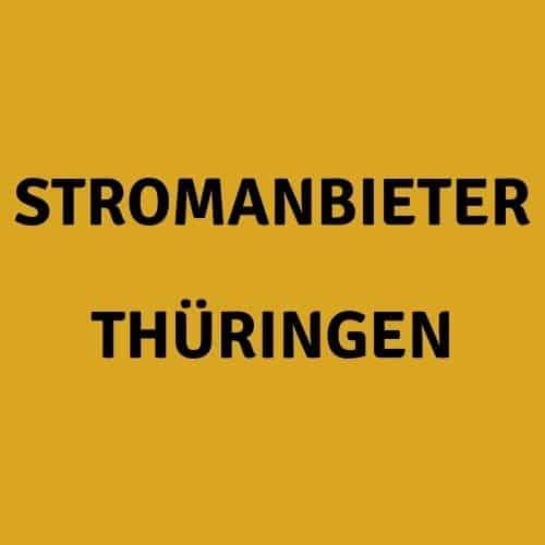 Der Stromanbieter Thüringen