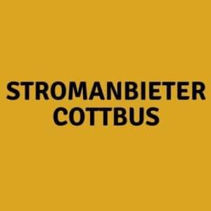 Stromanbieter Cottbus