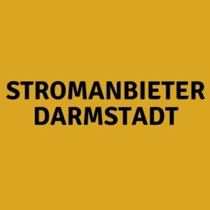Stromanbieter Darmstadt