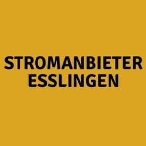 Stromanbieter Esslingen