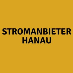Stromanbieter Hanau