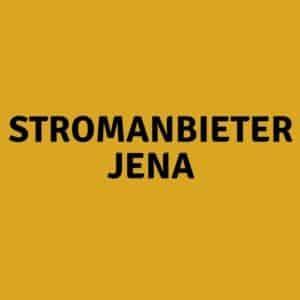Stromanbieter Jena