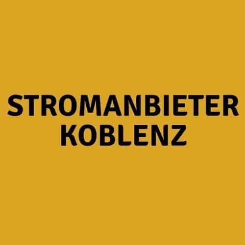 Stromanbieter Koblenz