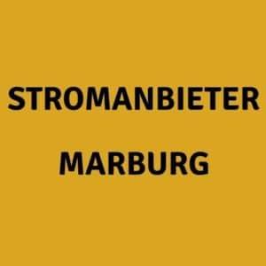 Stromanbieter Marburg