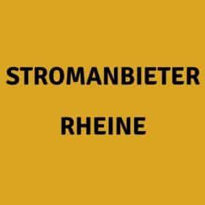 Stromanbieter Rheine