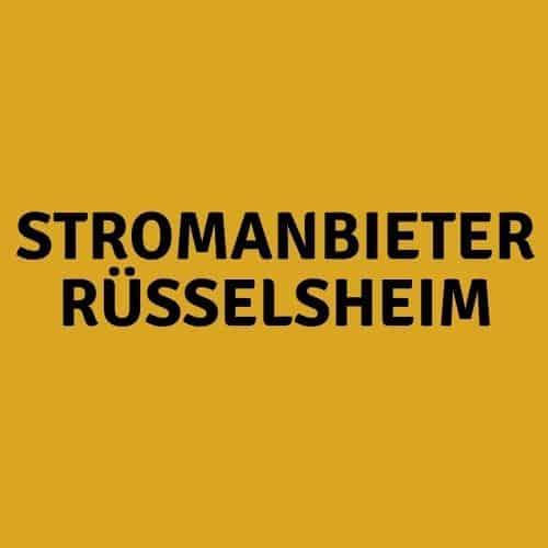Stromanbieter Rüsselsheim