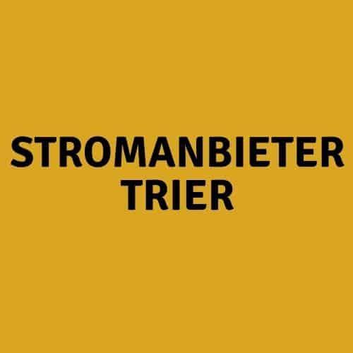 Stromanbieter Trier
