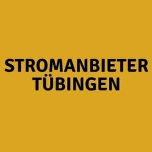 Stromanbieter Tübingen