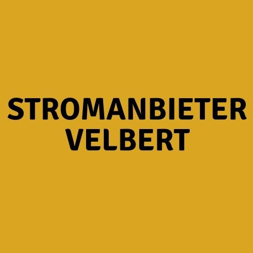 Stromanbieter Velbert