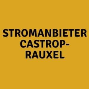 Stromanbieter Castrop-Rauxel