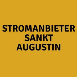 Stromanbieter Sankt Augustin